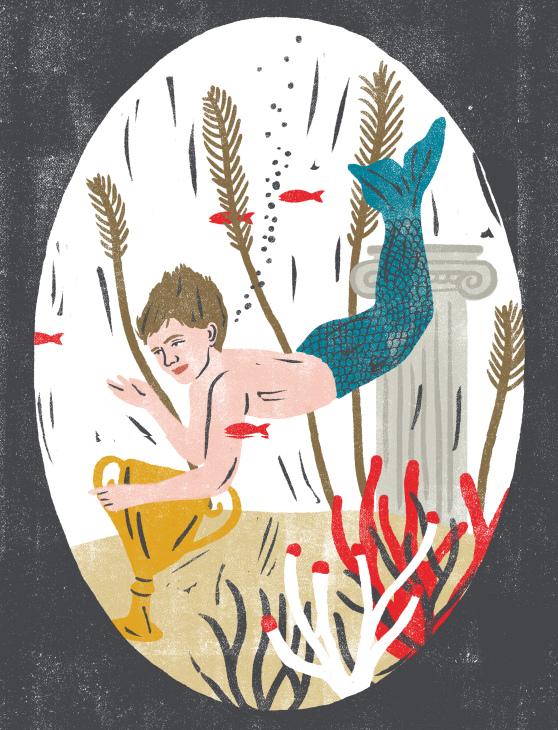 """Illustrazione di Marta Pantaleo, contenuta ne """"Il mago Tre-Pi"""", di Lilith Moscon, in prossima pubblicazione (novembre 2017) per Telos edizioni"""