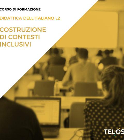 21/03/2020 DIDATTICA DELL'ITALIANO L2: La Costruzione Di Contesti Inclusivi