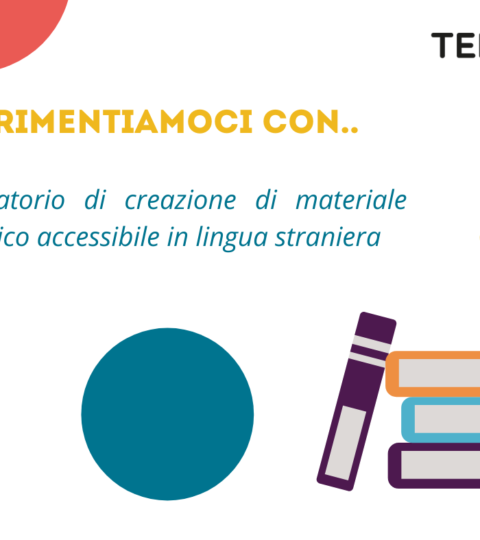 15/05/2021 – Laboratorio Di Creazione Di Materiale Didattico Accessibile In Lingua Straniera